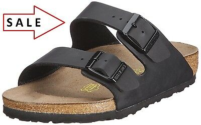 BIRKENSTOCK real  LEATHER or Birkoflor Upper ,Gizeh or Arizona Black All Size !!