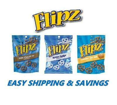 Flipz Covered Pretzels !! 7.5 Oz !! Choose Your Option & Free World Shipping!!