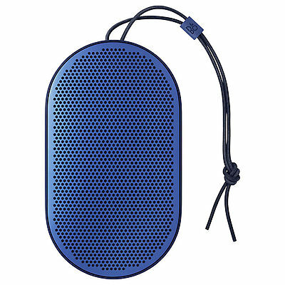 B&O PLAY By Bang & Olufsen Beoplay P2 Portable Bluetooth Speaker - Royal Blue