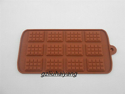 Rectangular Small Silicon Cake Decorating Cookie Chocolate Mold Baking Tools