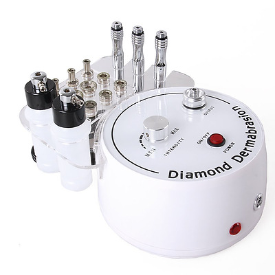 3-In-1 Diamond Dermabrasion Machine Personal Microdermabrasion Facial Equipment