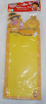 Happy Halloween Magnetic Note Grocery Pad DORA the Explorer Witch 60 page
