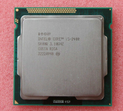 Intel i5 2400 3.1 GHz QC Processor CPU LGA1155 Socket