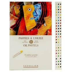 Sennelier Artist's Oil Pastels Set of 72 Asstd Colours