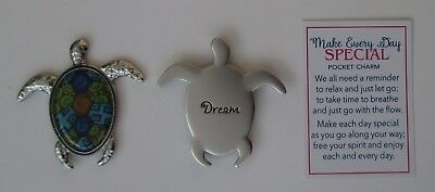 c Dream sea turtle MAKE EVERY DAY SPECIAL POCKET token charm ganz