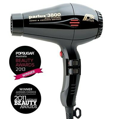 PARLUX 3800 Hair Dryer Light Ceramic Ionic Super Compact Hairdryer Award Winning