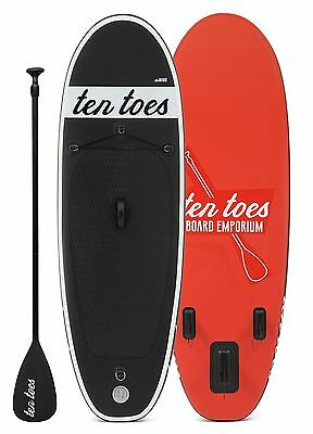 Ten Toes Boards Ten Toes Board Emporium Nano Inflatable Stand up Paddle Board...