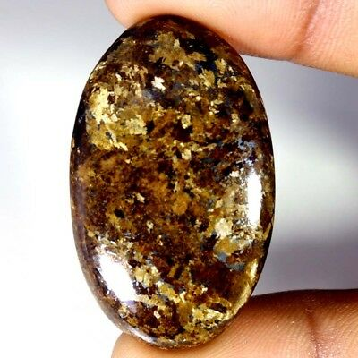 64.60Cts Designer A+ 100% Natural Bronzaite Oval Cab Loose Gemstone