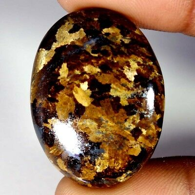 53.70Cts Designer A+ 100% Natural Bronzaite Oval Cab Loose Gemstone