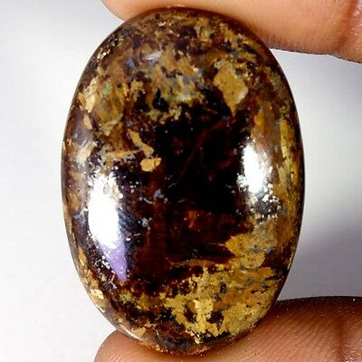 46.60Cts Designer A+ 100% Natural Bronzaite Oval Cab Loose Gemstone