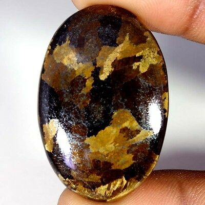 60.85Cts Designer A+ 100% Natural Bronzaite Oval Cab Loose Gemstone