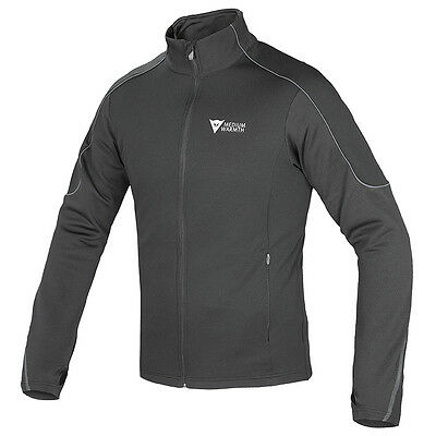 Dainese D-Mantle Black / black / Anthracite Fleece Base Layer Jacket All Sizes