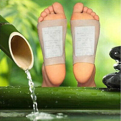 10 Gold Detox Foot Pads Patch Detoxify Toxins Adhesive Keeping Fit Health Care