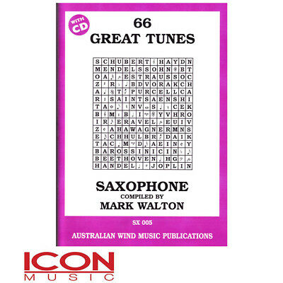 66 Great Tunes Tenor Sax - by Mark Walton
