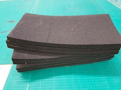 15 mm x 8 Thick Seat Foam Pad for Race / Track Day Bikes 400x200 mm