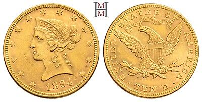 HMM - USA 10 Dollar 1894 Liberty / Coronet Head KM 102 Fr. 158 - 170818016