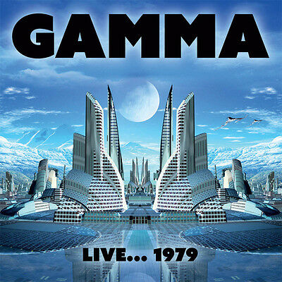 GAMMA - Live... 1979. New CD + sealed ** NEW **