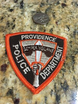 Vintage Patch: Providence Police Department