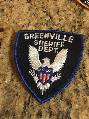 """Greenville Sheriff Dept. 4"""" Patch"""