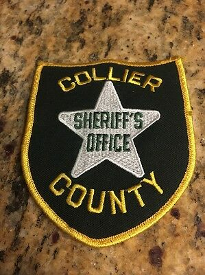 Collier County Sherrif's office Shoulder Patch