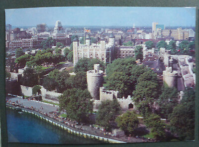 Vintage British Postcard - General View Of The Tower Of London