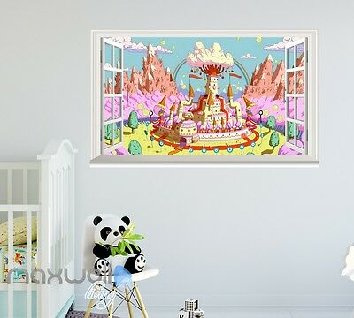 Adventure Time Adventure Time Cartoon Cartoon window wall sticker art decal