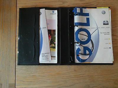 Volkswagen Golf  Car Hand Book