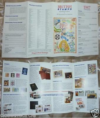 British Stamps Information for Collectors & 1987 Special Stamp Issue Programme