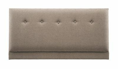 Old English Bed Company Upholstered Buttoned Headboard Various Colours/Material
