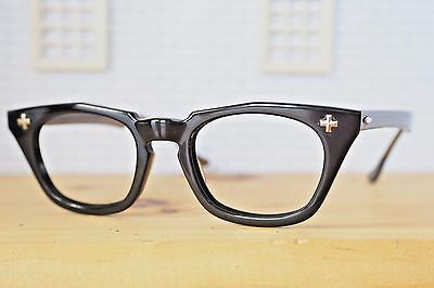 Vintage Bausch And Lomb Eyeglass Tart Arnel Shape 1950's Size new old stock