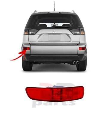Mitsubishi Outlander 2007-2012 Rear Tail Left Fog Lights For Right-Hand Traffic