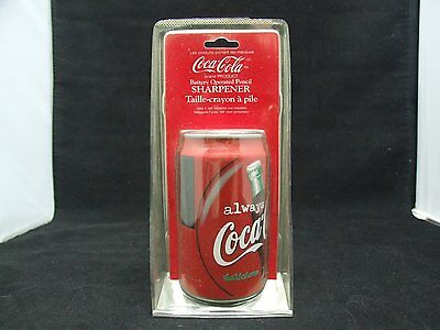 Coca Cola 1998 pencil sharpener in package