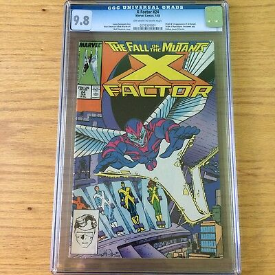 X-Factor 24 CGC 9.8! Origin and First Appearance of Archangel!