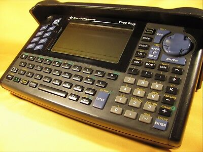 Texas Instruments TI-92 Plus Graphing Calculator with Cover, Tested Excellent