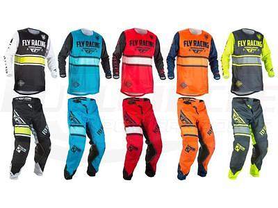 Fly Racing Kinetic Era Youth Jersey Pant Combo Set MX/ATV Riding Gear Kids Child