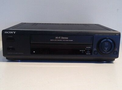 Sony SLV-675HF HIFI Stereo Auto Tracking VHS VCR Video Cassette Recorder Player