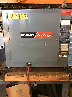Used Forklift Battery Charger - 48 Volt / 865AH / 3 Phase / Hobart brand, Tested