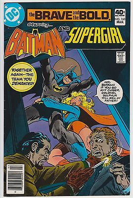 Brave and Bold #160 DC 1980 FN+ 6.5 Batman and Supergirl