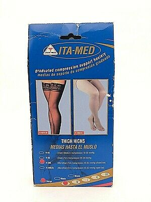 ITA-MED Graduate Compression Support Hosiery (H-306) Size Small