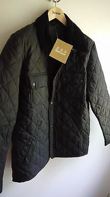 Barbour Tinford Quilted Jacket, New With Tags, Medium, Black