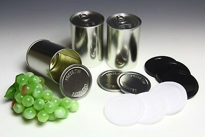 400ML LARGE PRESSITIN SELF SEALING CANS - Stash Geocache Gift Tin