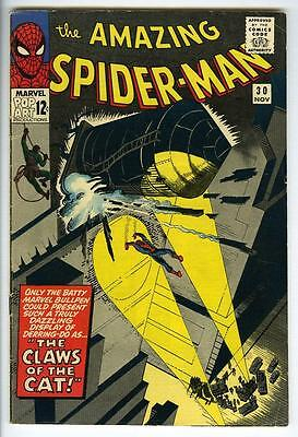 Amazing Spider-Man #30 1965 1st appearance the Cat SILVER AGE