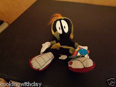 Rare Looney Tunes Space Cadet Marvin Martian Duck Dodgers Plush Doll Figure Toy