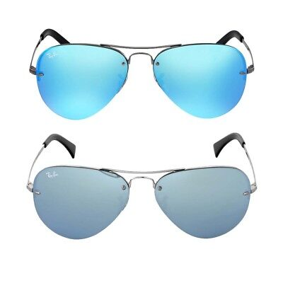Ray Ban Blue Mirror Aviator Sunglasses RB3449 - Choose color