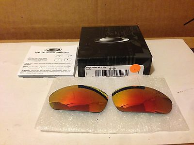 NEW OAKLEY - Straight Jacket - Replacement Lenses Kit: Ruby Iridium, 16-564