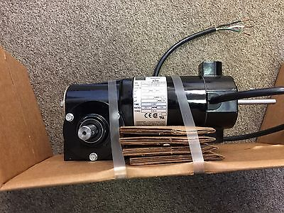 Bodine 90V 0.5A 45W right angle 20:1 worm drive gearmotor