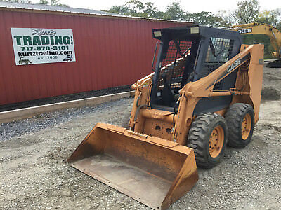 2007 Case 420 Skid Steer Loader!