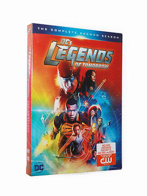 DCs Legends of Tomorrow: The Complete Second Season (DVD, 2017) FREE Shipping!