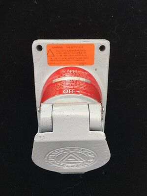 NEW Appleton EFSR20232M Model B 20A 2HP 250VAC Receptacle Open Stock Inventory