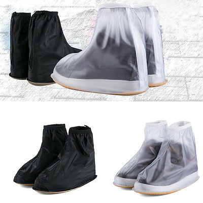 Hot Reusable Rain Shoe Covers Waterproof shoes Overshoes Boot Gear Protector